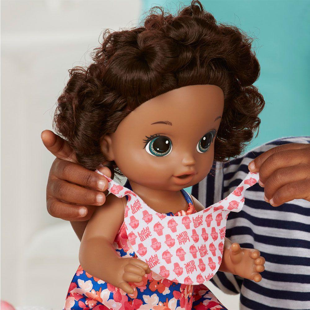 cc9a747048 Boneca Baby Alive Sorvete Mágico Negra - Hasbro - Boneca Baby Alive ...