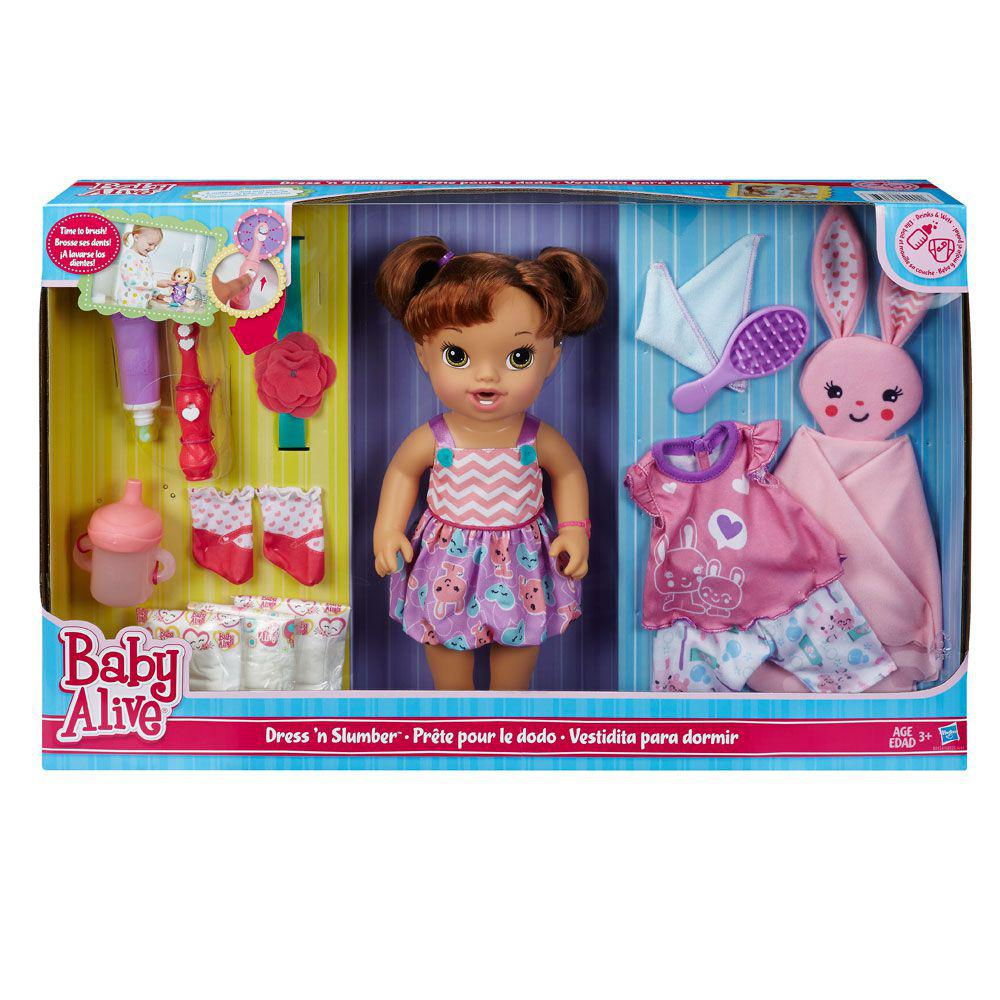 f9fd8a633d Boneca Bebê - Baby Alive - Festa do Pijama - Morena - Hasbro Produto não  disponível