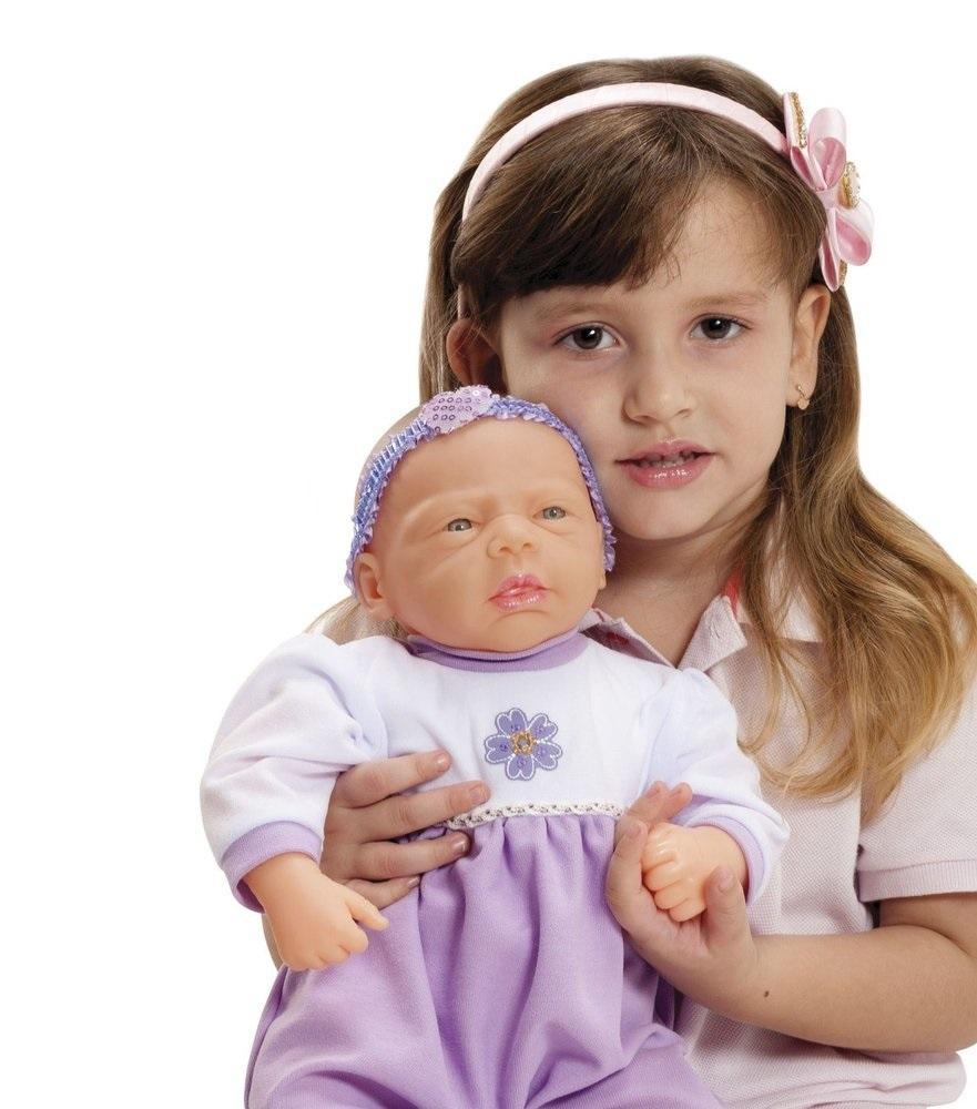 a588a896f Boneca Bebê Baby Aninha 384 - Adijomar - Boneca Bebê - Magazine Luiza
