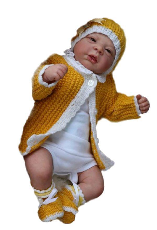 96f473ba3e3 Boneca Bebê reborn original Yasmin - Baby dollls R$ 1.099,00 à vista.  Adicionar à sacola