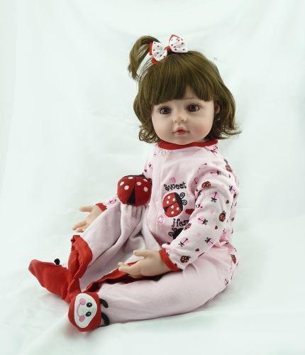 e18b3dd2d Boneca Bebê Reborn Silicone Realista Pronta Entrega 58cm Produto não  disponível