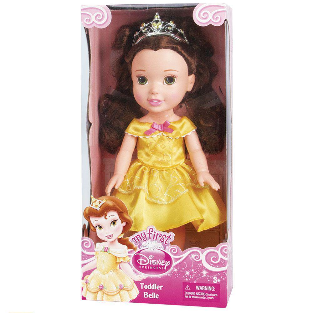 Boneca Clássica - Minha Primeira Princesa - Princesas Disney - Bella - Mimo  R  99 855a8dc449e