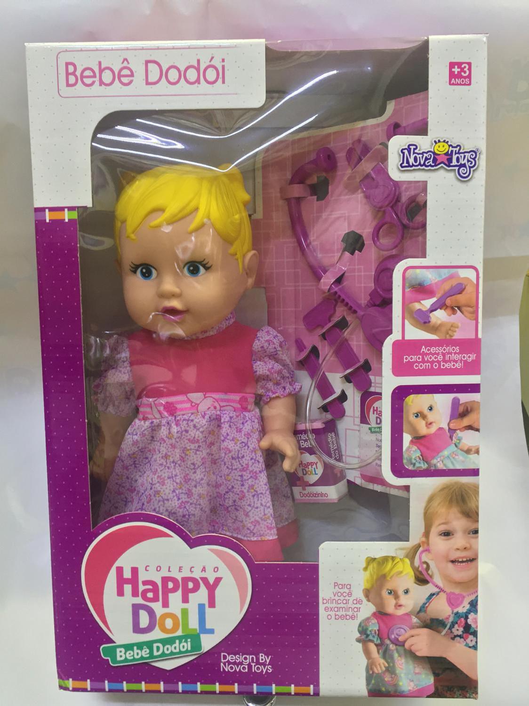 1665006683 Boneca Happy Doll Doutora - Nova Toys - Bonecas - Magazine Luiza