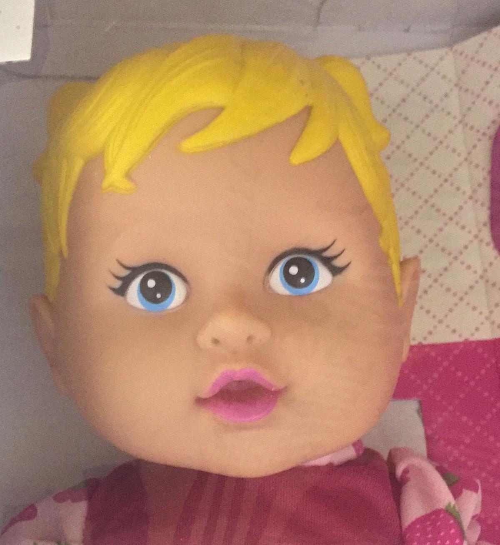 b4baaa784d Boneca Happy Doll Papinha - Nova Toys - Bonecas - Magazine Luiza