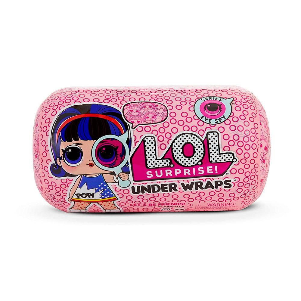 Boneca Lol Under Wraps Surprise Serie Eye Spy 8911 - Candide Produto não  disponível 06ebdb3754