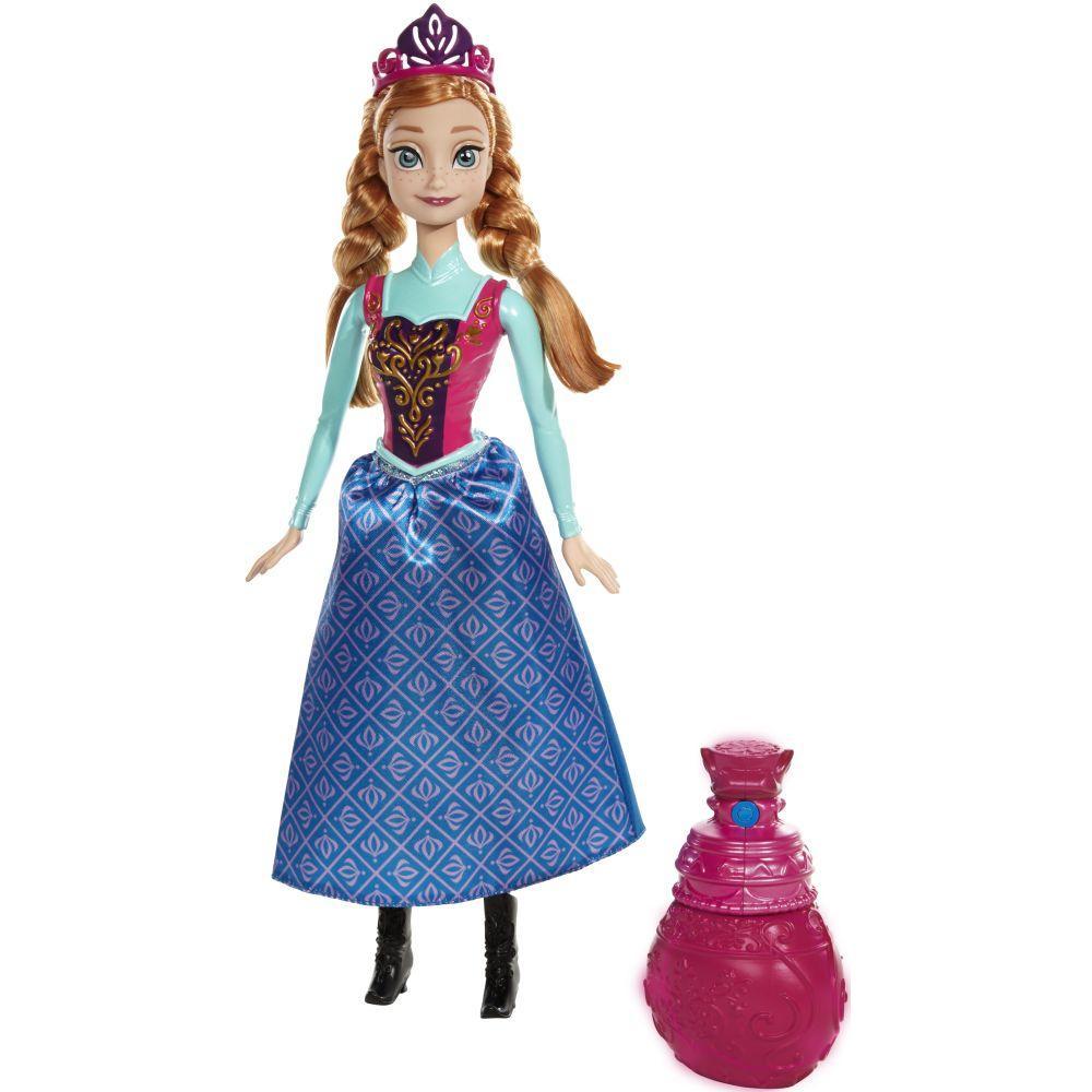 9c23f5bd77 Boneca Princesa Anna - Muda de Cor - Disney Frozen - Mattel Produto não  disponível