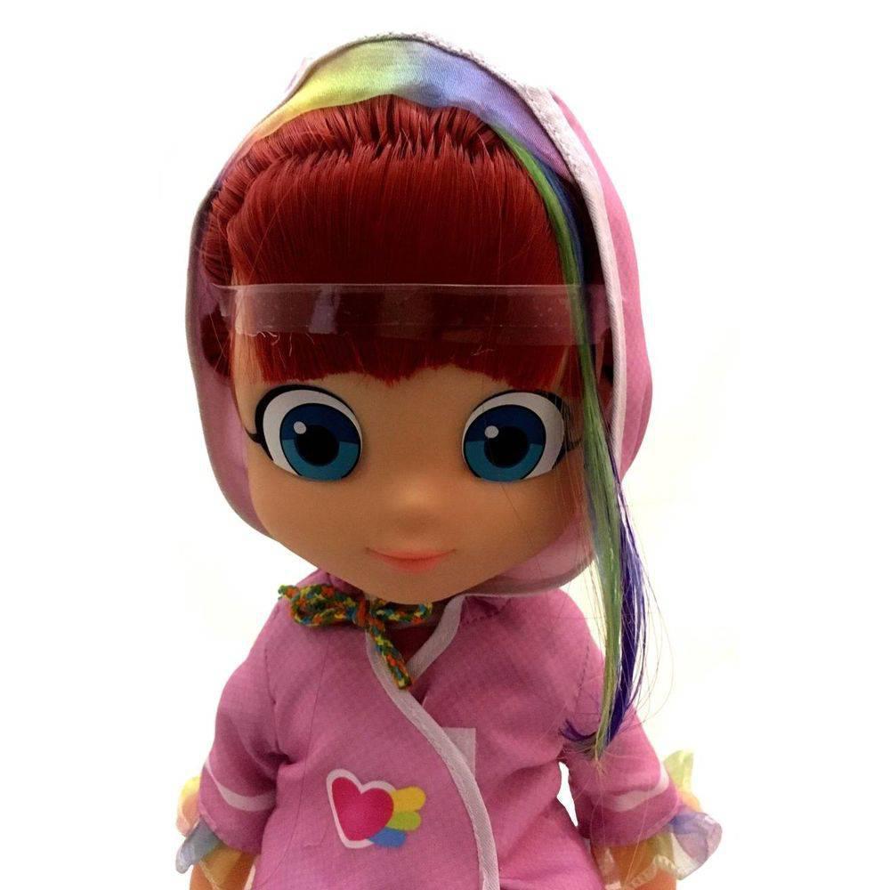 Boneca Rainbow Ruby Com Capa Original - Baby Brink ...