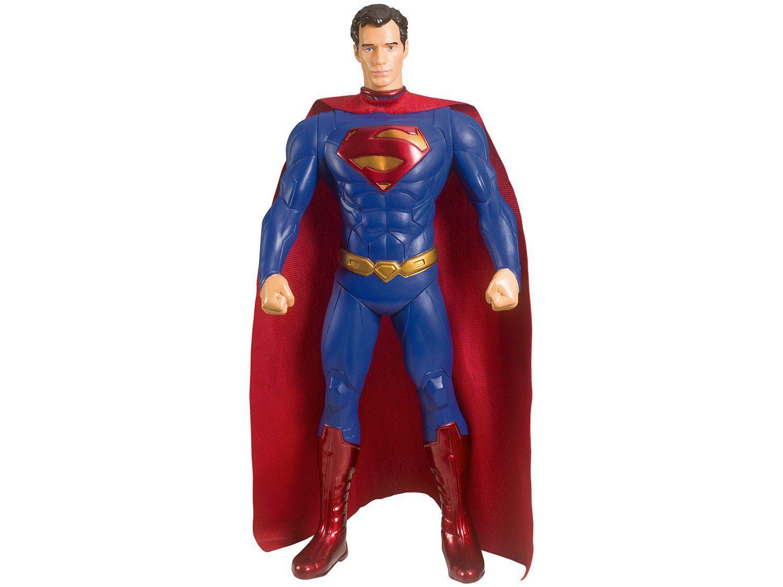 Mini Boneco Superman-Dc semelhante ao Lego