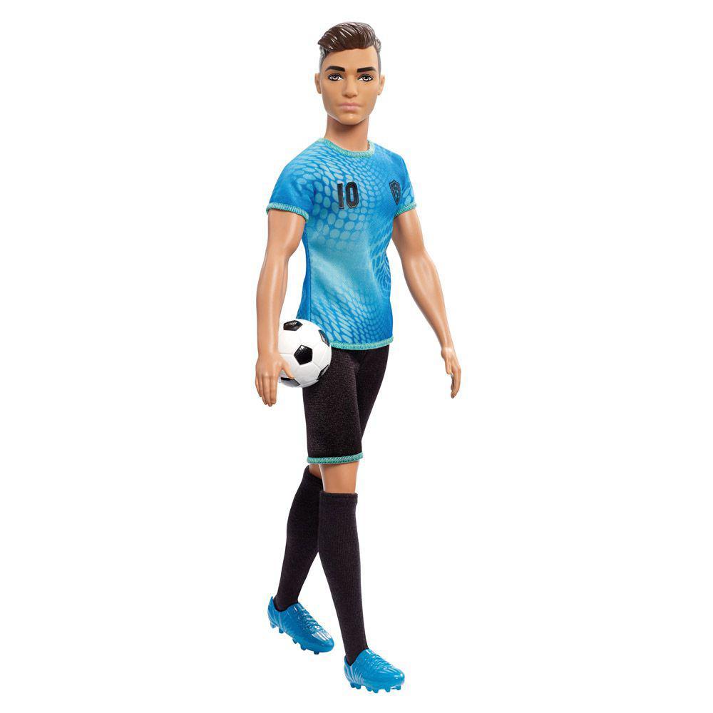 3e6f8448dc2c3 Boneco Ken - Série Profissões - Jogador de Futebol - Mattel Produto não  disponível