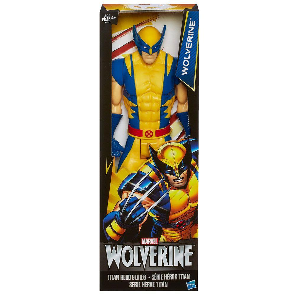 Boneco Wolverine - Titan Hero - 30 cm - Hasbro - Bonecos - Magazine ... 285ef2f6aca