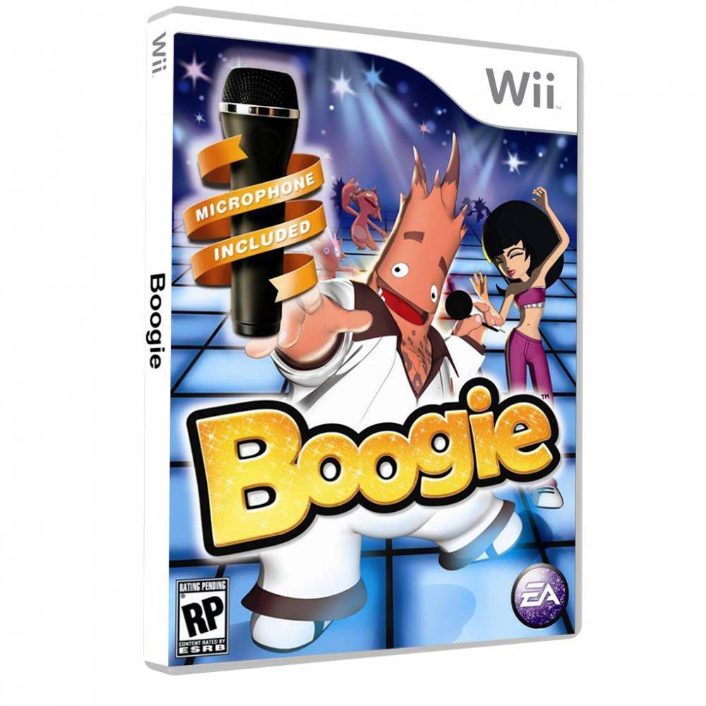 Boogie Microfone Electronic Arts Nintendo Wii Wii U Magazine Luiza