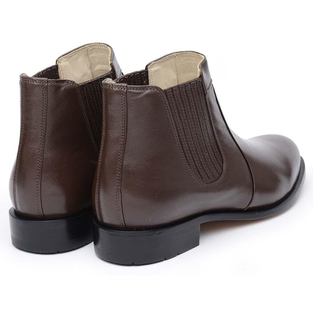 c2236c9328 Bota Masculina DLutty em Pele de Carneiro Marrom - Café - 38 - Dlutty  calçados R$ 214,50 à vista. Adicionar à sacola