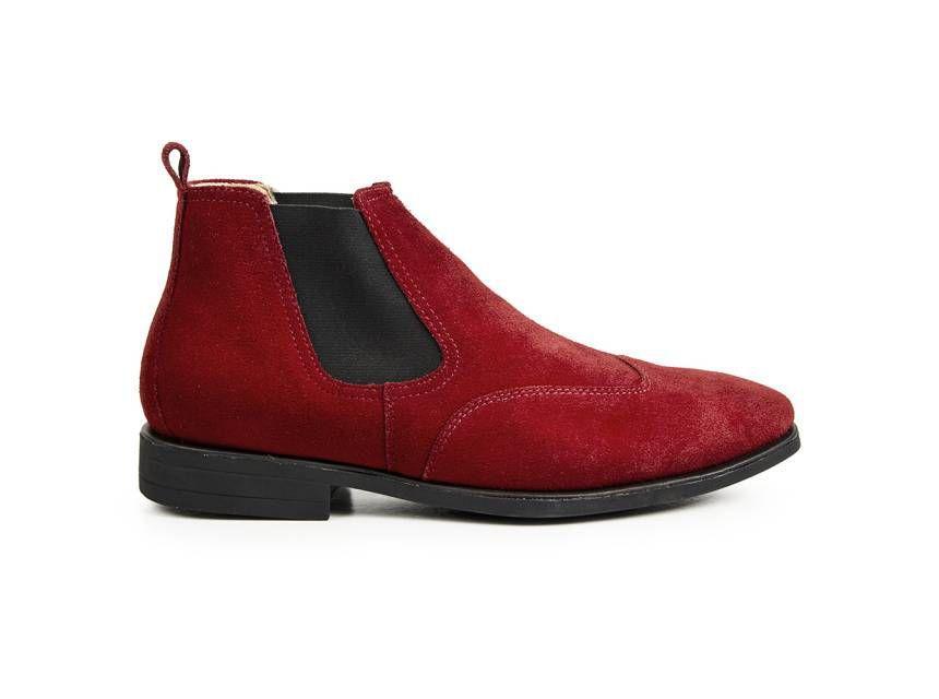 c27d6cc8b8 Bota masculina sandro moscoloni classic chelsea vermelho red R$ 219,90 à  vista. Adicionar à sacola
