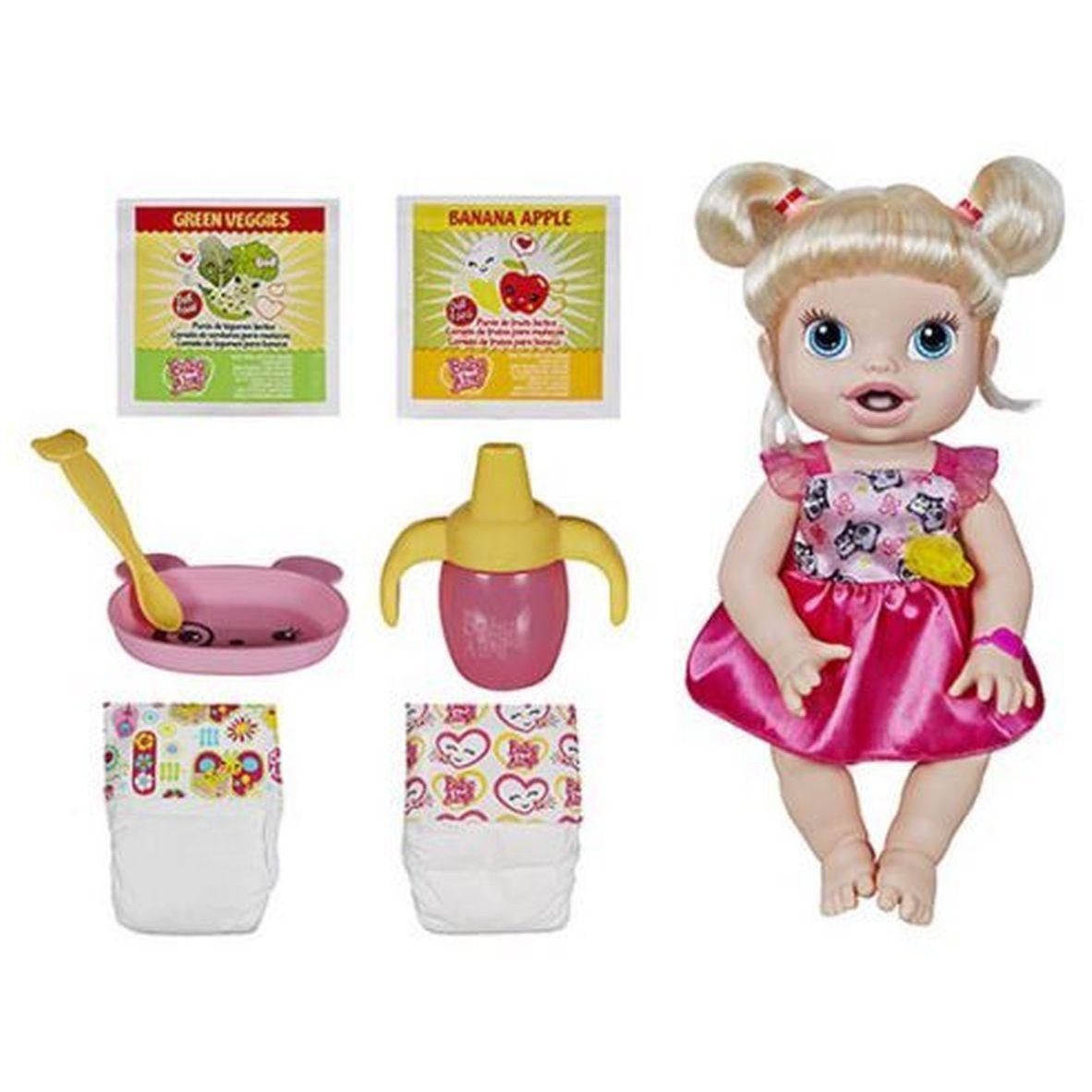 23f6076569 Brinquedo Boneca Baby Alive Hora de Comer Loira - Hasbro -a7022 Produto não  disponível