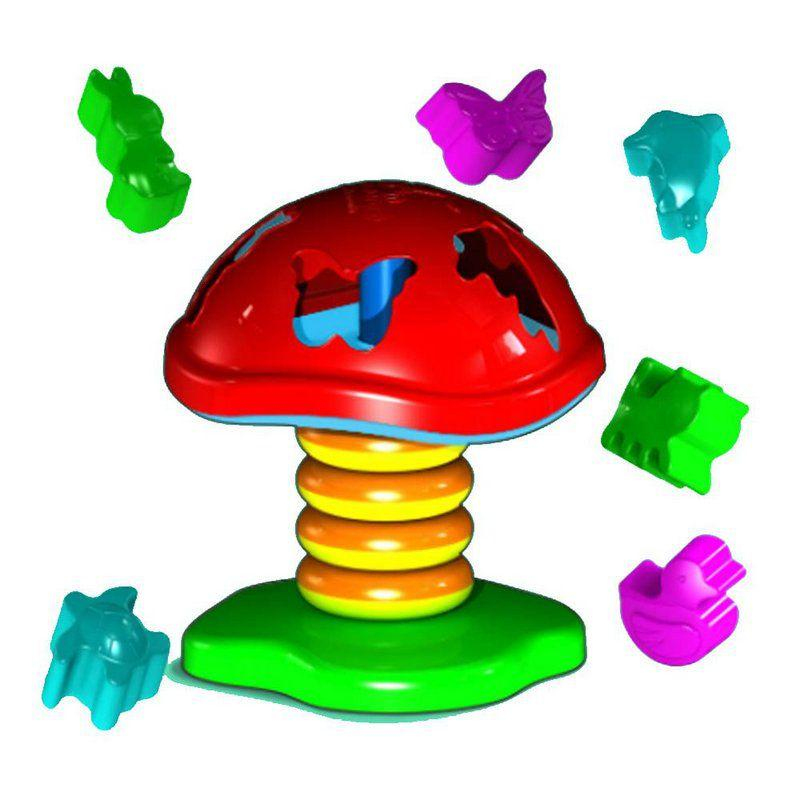 78f477f89cd Brinquedo Cogumelo Educativo 6 Peças - Carimbrás - Carimbras R  41