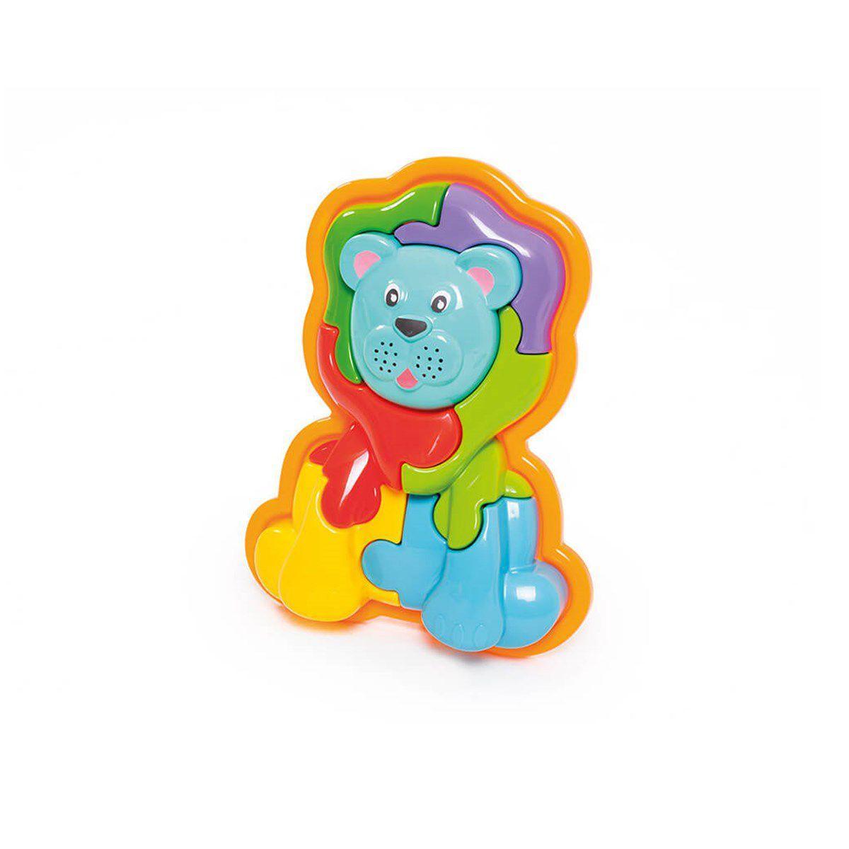 a67d601bead Brinquedo educativo animal puzzle 3d leão - calesita 853 R  39
