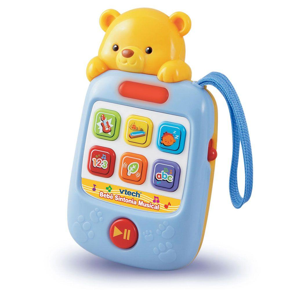 86f0e3c37 Brinquedo Educativo - Bebê Sintônia Musical - Vtech Produto não disponível