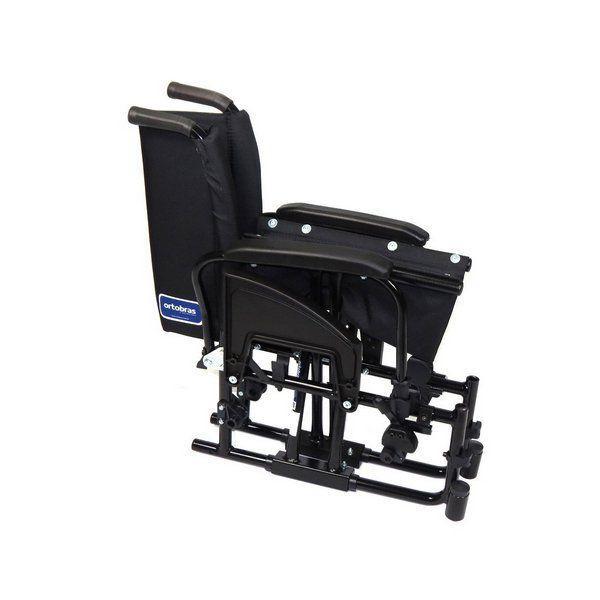 98e8c0e3aceb Cadeira de Rodas Alumínio AVD Ortobras Dobrável em X 000000 44cm R$  1.549,00 à vista. Adicionar à sacola