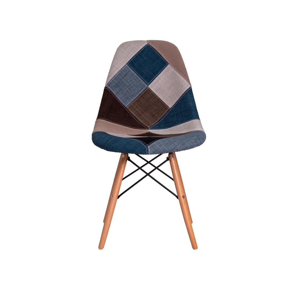 8d0e4b650 Cadeira Eiffel Botonê Eames DSW Base Madeira Várias Cores - Waw design R   206