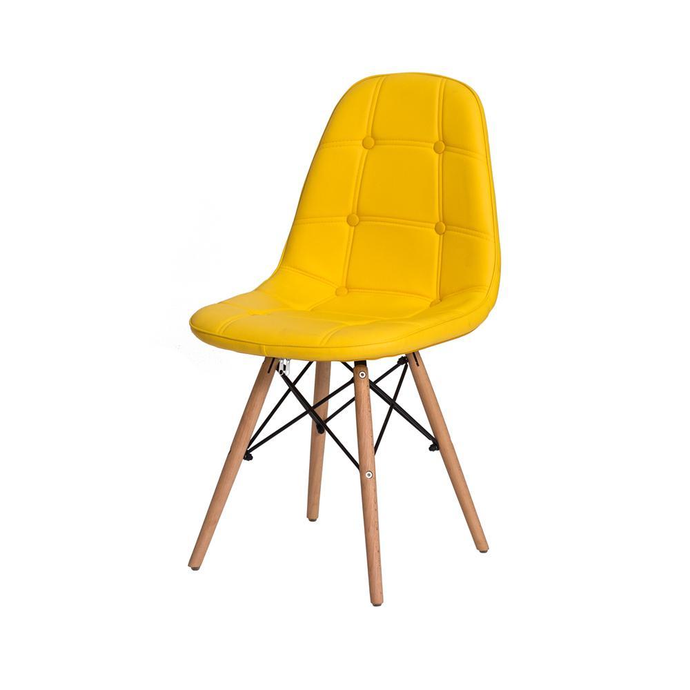 1382ef89a Cadeira Eiffel Botonê Eames DSW Base Madeira Várias Cores - Waw design R   199