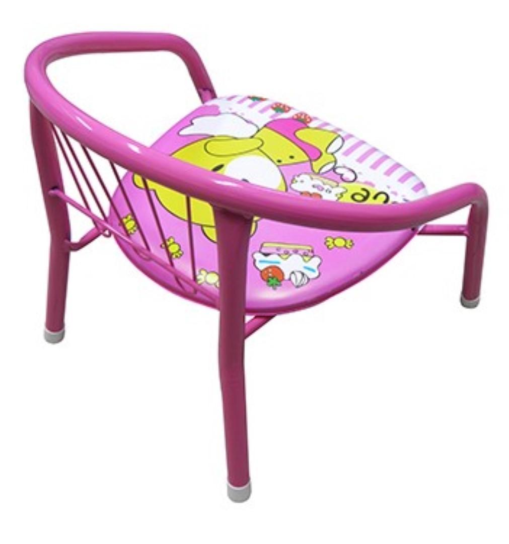 Cadeirinha Banco Infantil Criança Buzina Apito Metal Love (BA-31114) - 20  comercial R  39 a96c9f64dc101