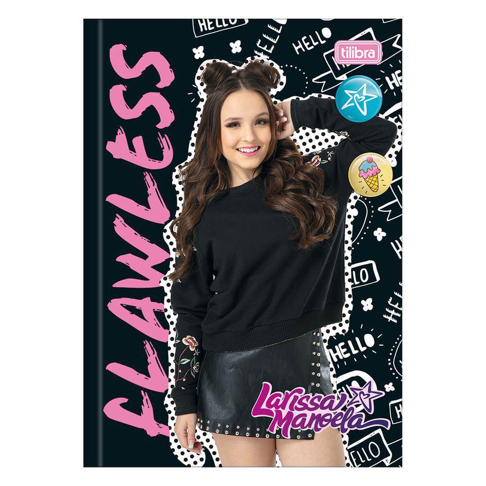 Caderno Brochura Larissa Manoela - Preto - 80 Folhas - Tilibra R  18,00 à  vista. Adicionar à sacola 8f82733a33