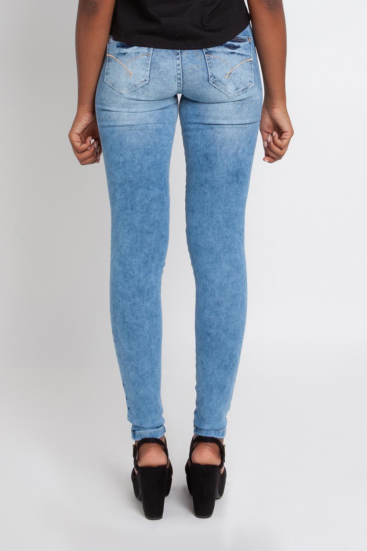 04694061b Calça Jeans Feminina Skinny Biotipo Azul - Avenida R$ 119,99 à vista.  Adicionar à sacola