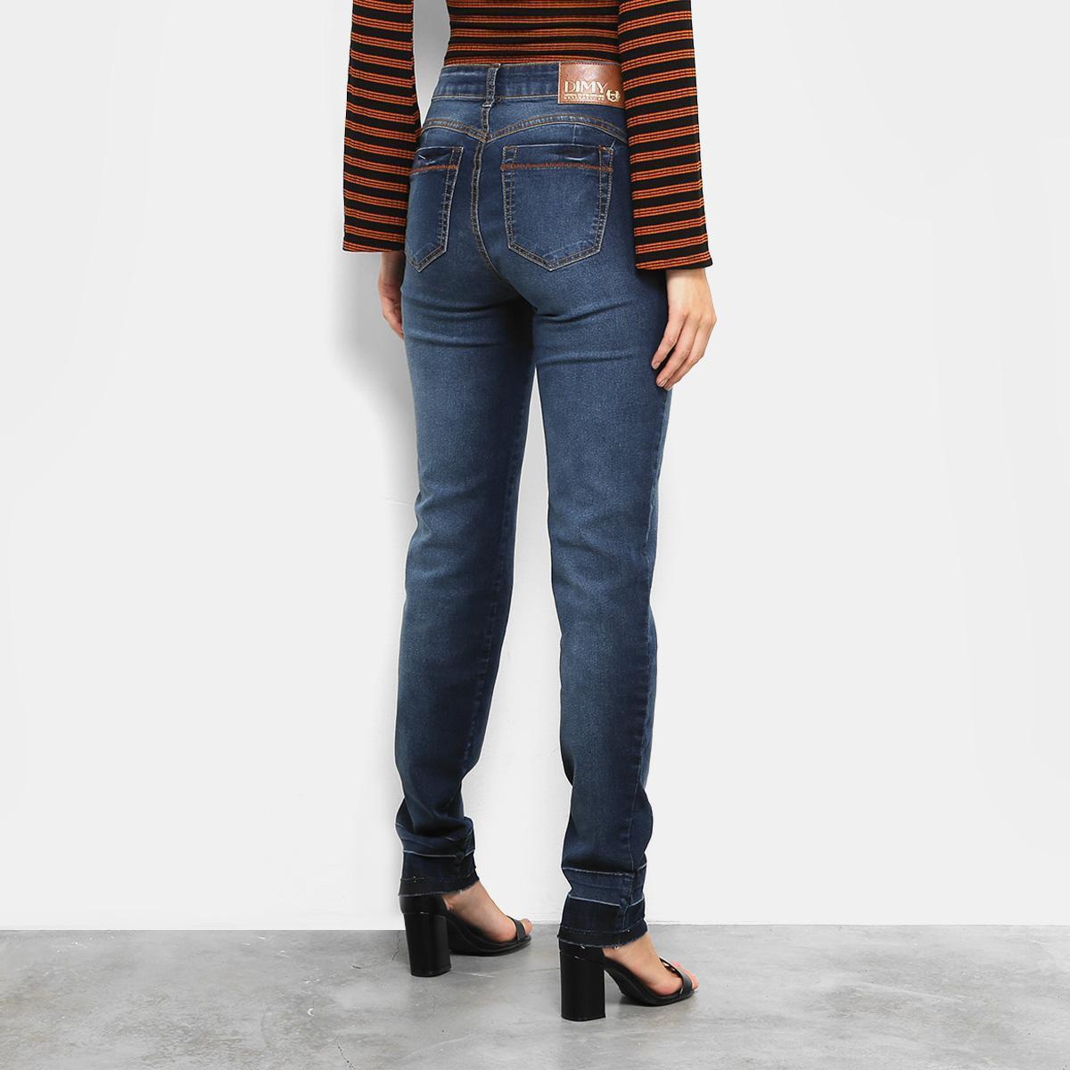 7c798abdad Calça Jeans Skinny Dimy Estonada Barra Desfiada Feminina R$ 149,99 à vista.  Adicionar à sacola