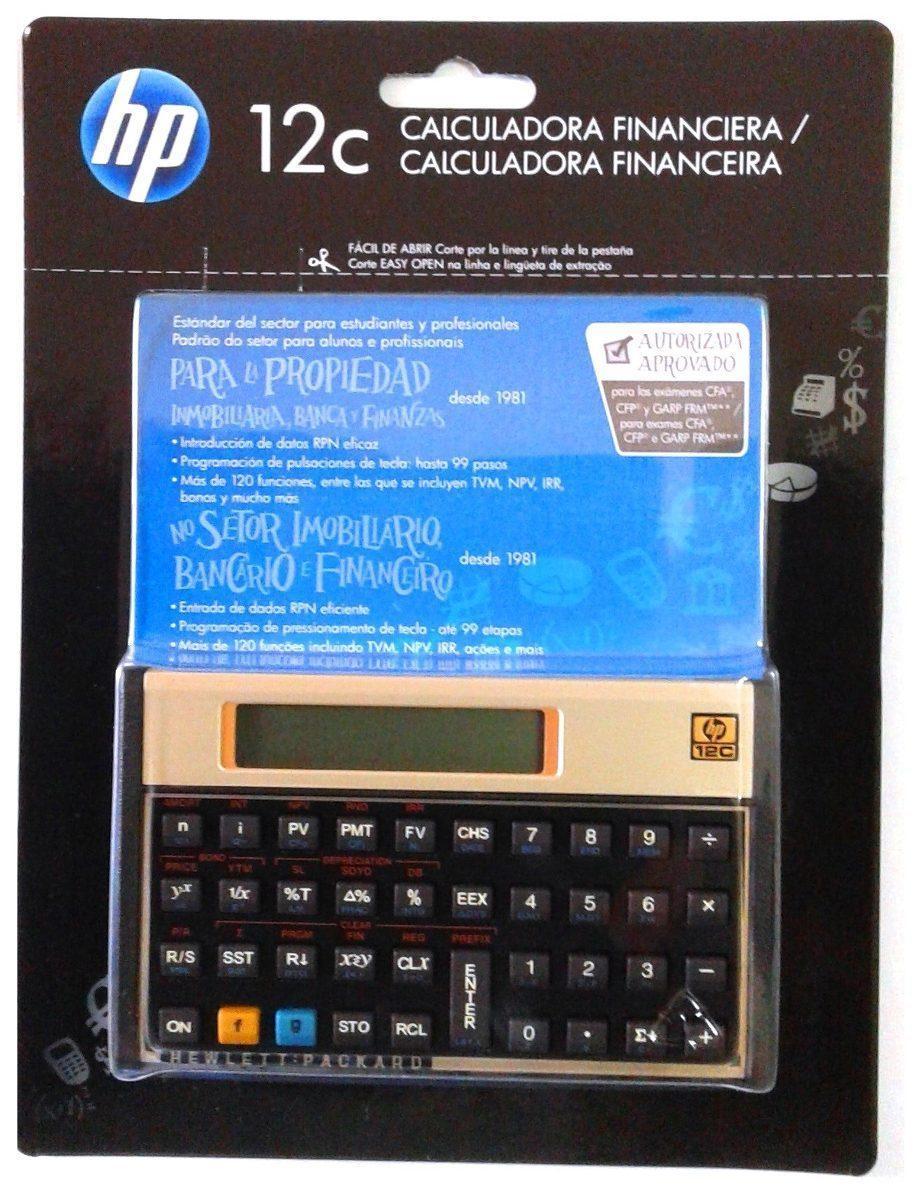 47acf4b73 calculadora financeira hp-12c gold - Calculadora científica ...