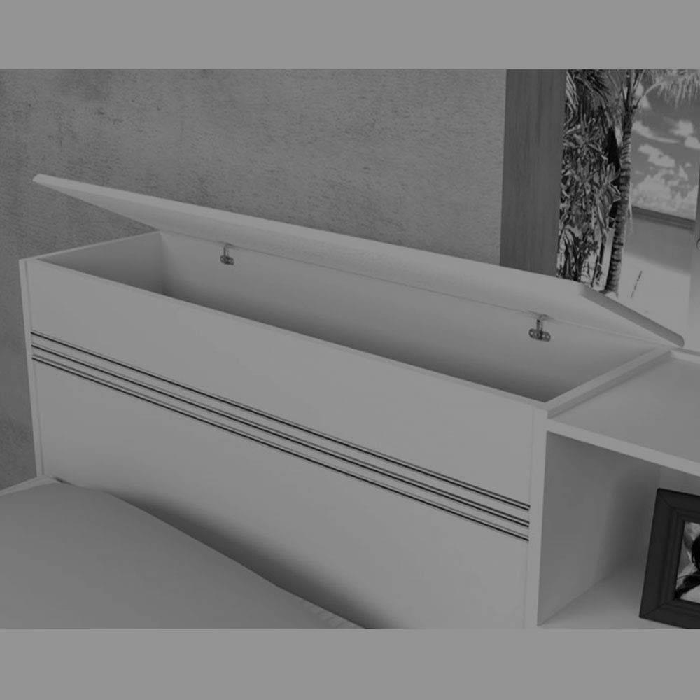 dda7c5aa31 Cama Baú c 2 gtas Jade com cama auxiliar Jequitibá - JA Móveis - J a móveis  R  522