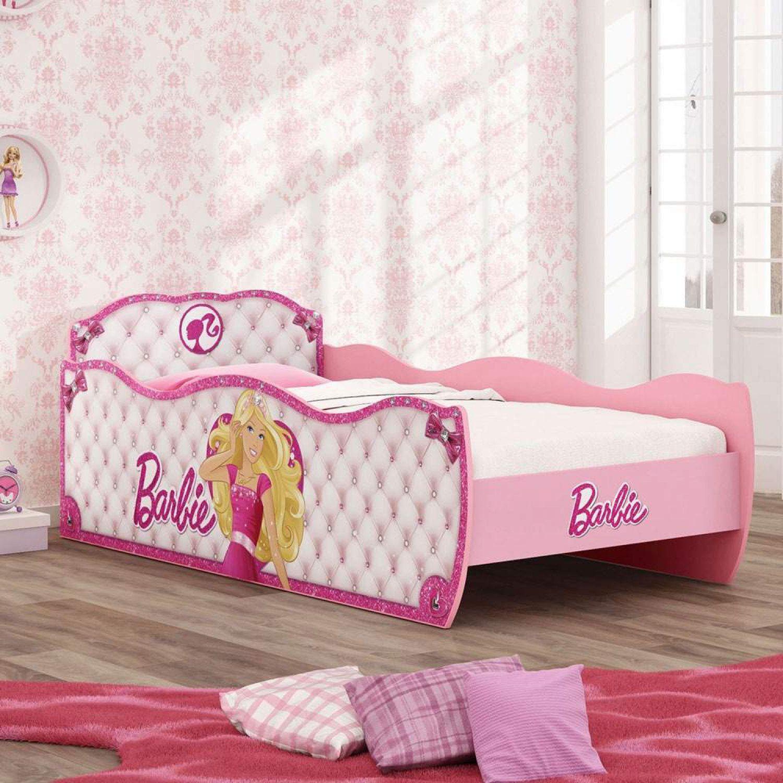 31e78ab7e0 Cama Infantil Barbie Star Pura Magia Rosa - Cama Infantil - Magazine ...