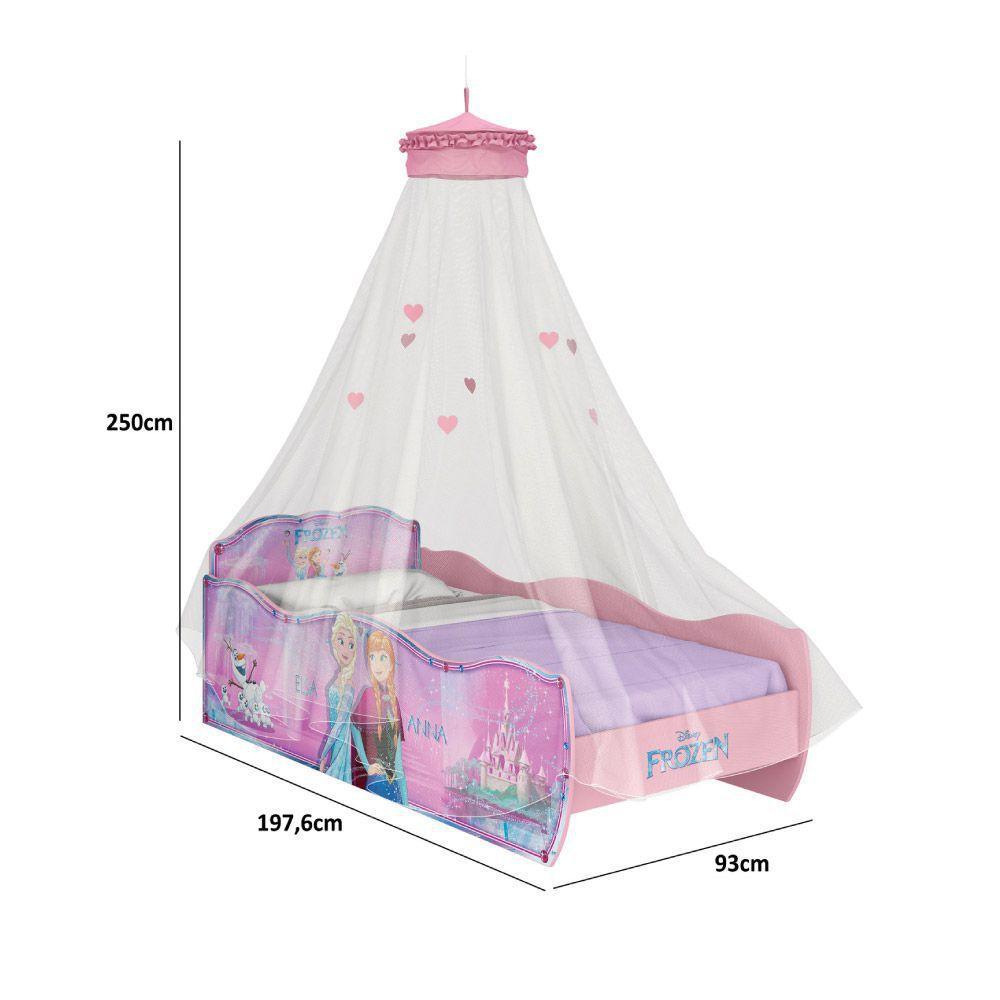 3dc9f567f Cama Infantil Frozen Disney Star com Dossel de Teto - Pura Magia R$ 886,86  à vista. Adicionar à sacola
