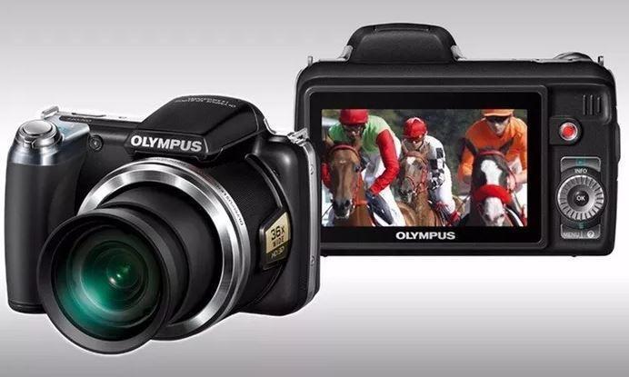 Camera Digital Filmadora Olympus Sp 810uz Hd 14 1mp Bateria S Cartao Filmadora Magazine Luiza
