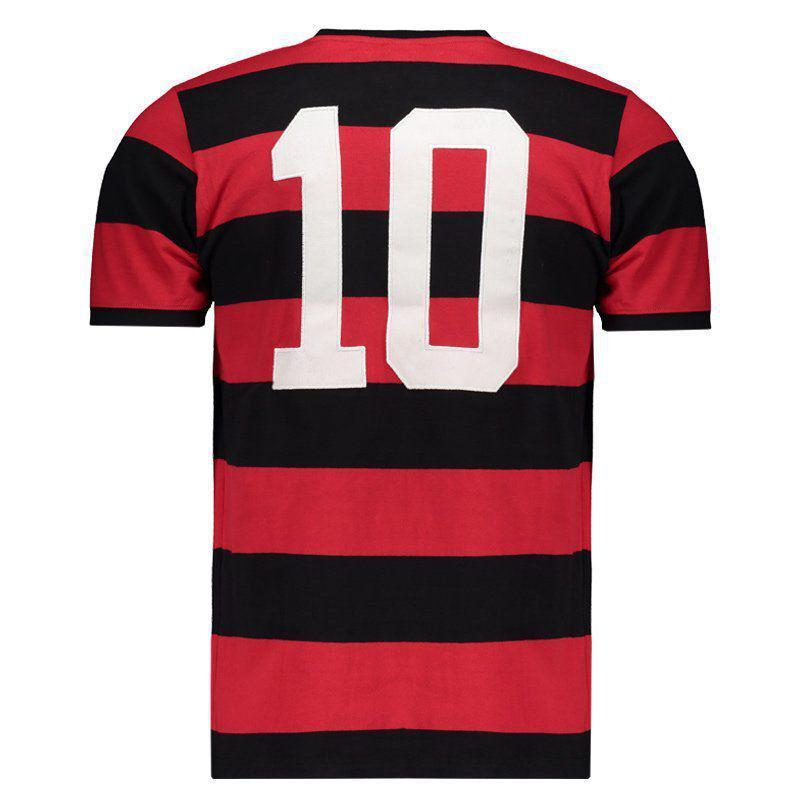 Camisa Flamengo Braziline Tri Zico Masculina - Camisa para Corrida ... 5c9f8d74d3720