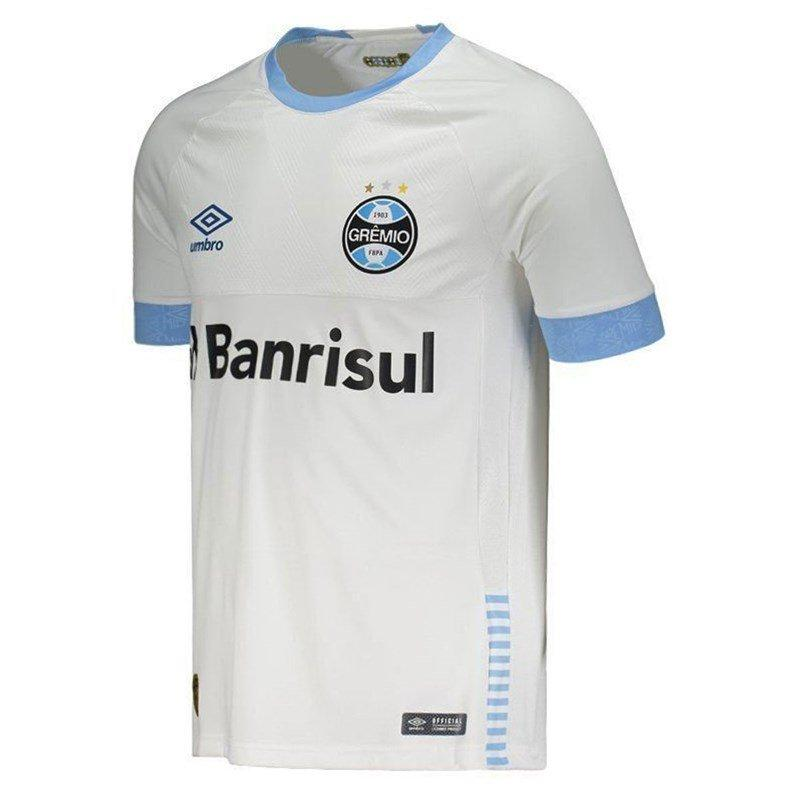 147e028939 Camisa Grêmio Umbro Oficial 2 2018 (GAME) - Camisa de Time ...