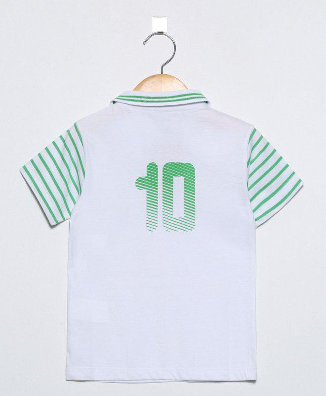 Camisa Infantil Palmeiras Polo Oficial - Revedor - Camisa de Time ... 49ccb750b0281