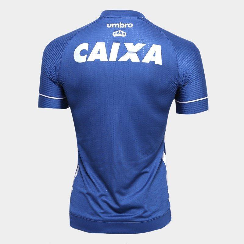16e1fcf016 Camisa Juvenil Cruzeiro Umbro Oficial 3 2017 2018 - Camisa de Time ...