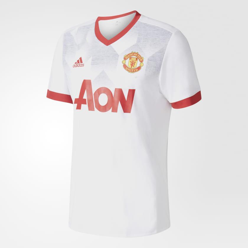 e25eb5012a Camisa Manchester United 2018 Adidas Branca Pré Jogo Produto não disponível