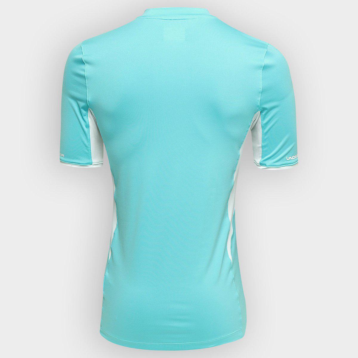 3d9e68deb6c4e Camisa Masculina São Paulo Goleiro Under Armour II 2015 Azul R$ 99,90 à  vista. Adicionar à sacola