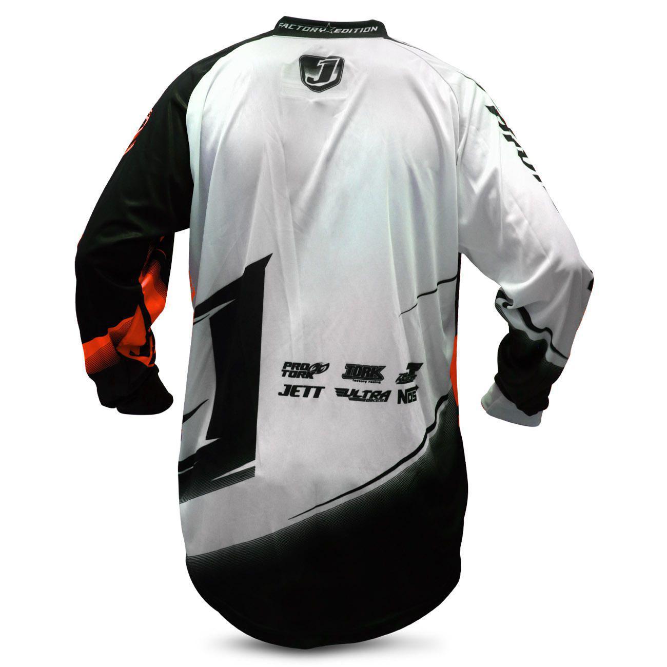 760fb6989 Camisa Motocross Pro Tork Jett Factory Edition Neon Laranja e Preto Trilha  Enduro Produto não disponível