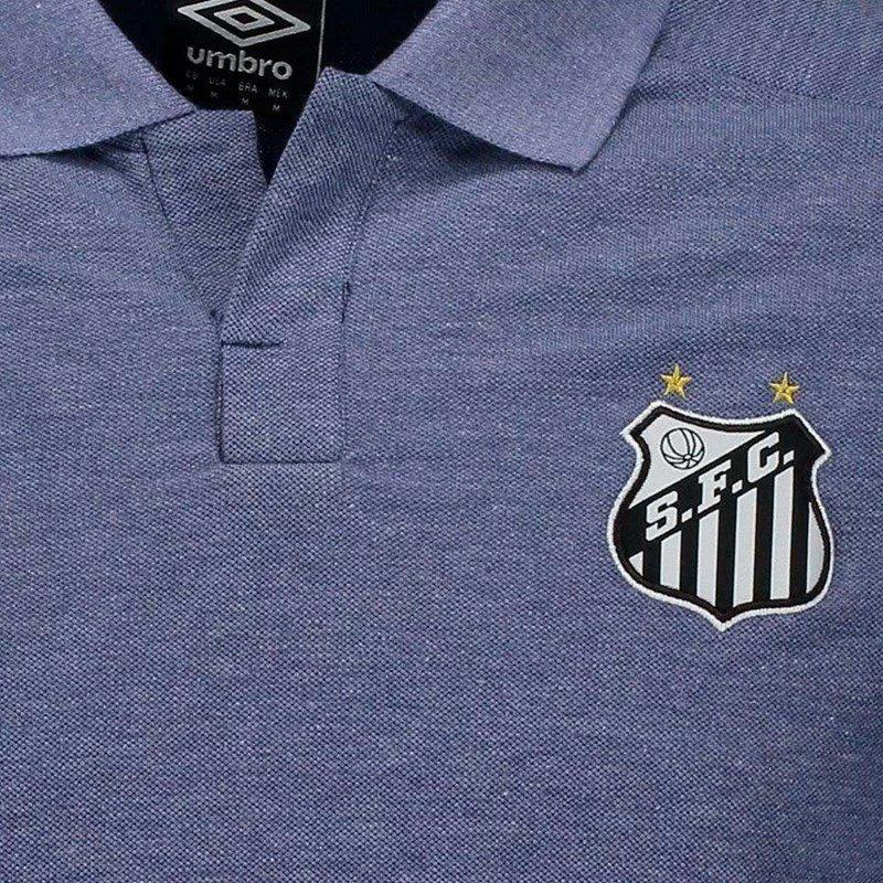 6295e6d758 Camisa Polo Umbro Santos Viagem 2018 Masculina - Vestuário Esportivo ...