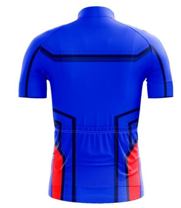Camisa scape capitao america azul - ciclismo - Camisa de Ciclismo ... 7c244c15c7f72