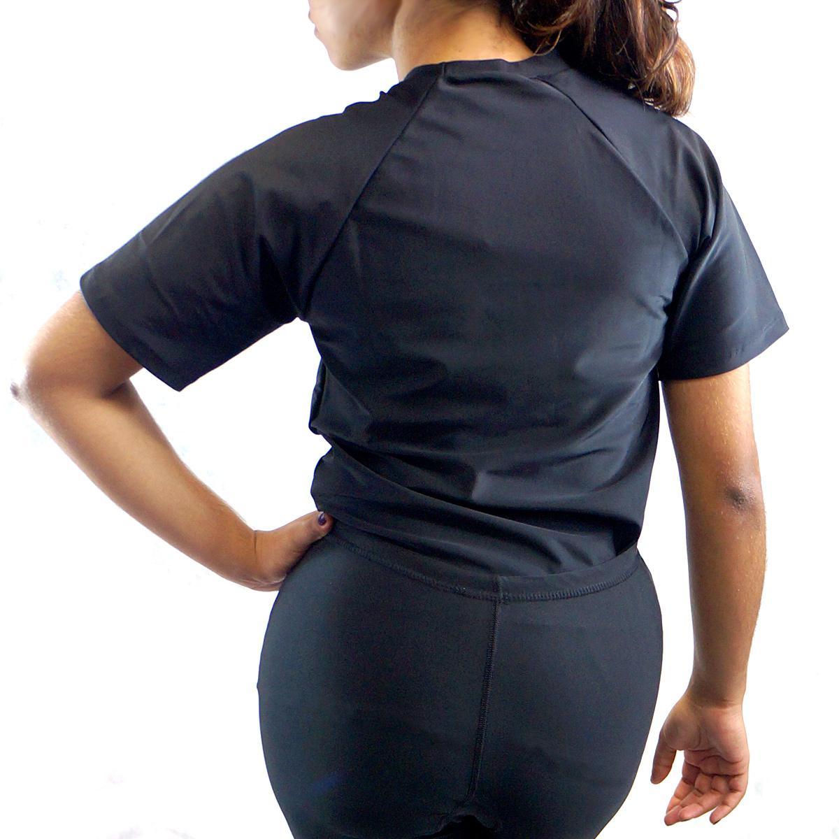 e1c123414a Camisa Térmica Unissex Rash Guard Segunda Pele Manga Curta Progne Produto  não disponível