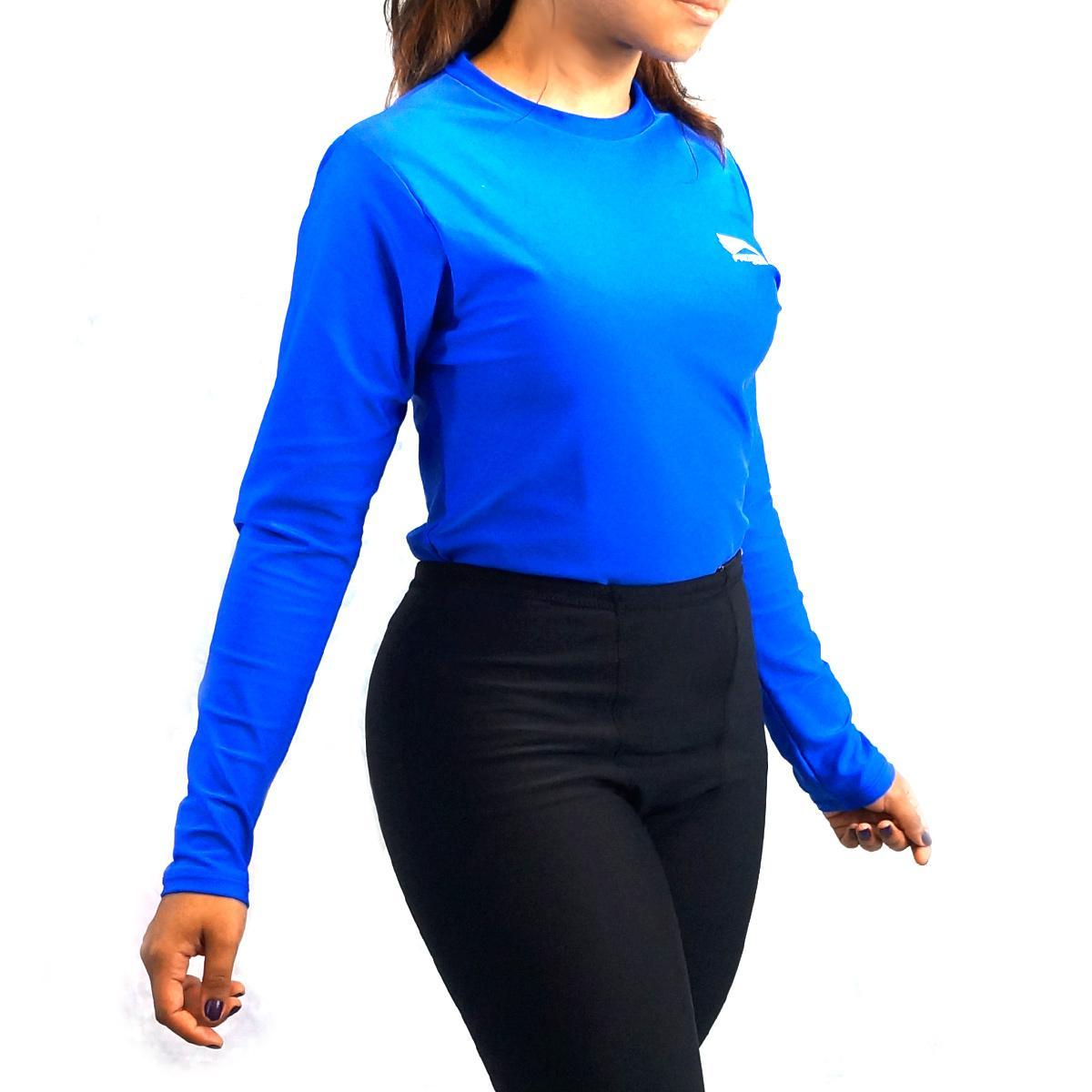 29128d6f5f Camisa térmica unissex segunda pele manga longa Progne - proteção UV 50+  Produto não disponível