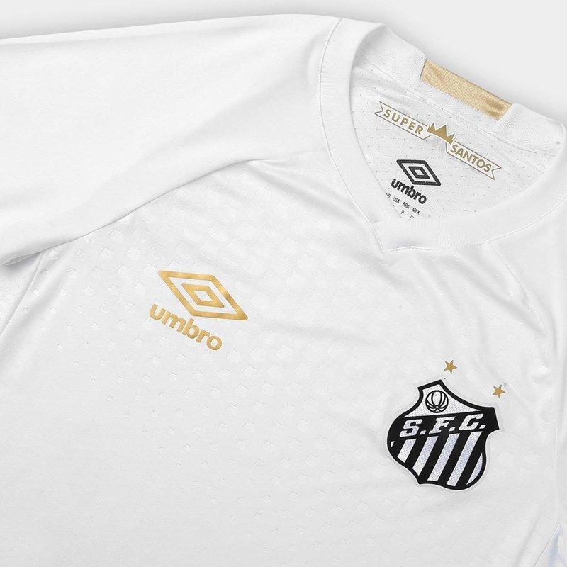 490c921521 Camisa Umbro Santos Oficial 1 2018 Game S/N Masculina R$ 159,90 à vista.  Adicionar à sacola