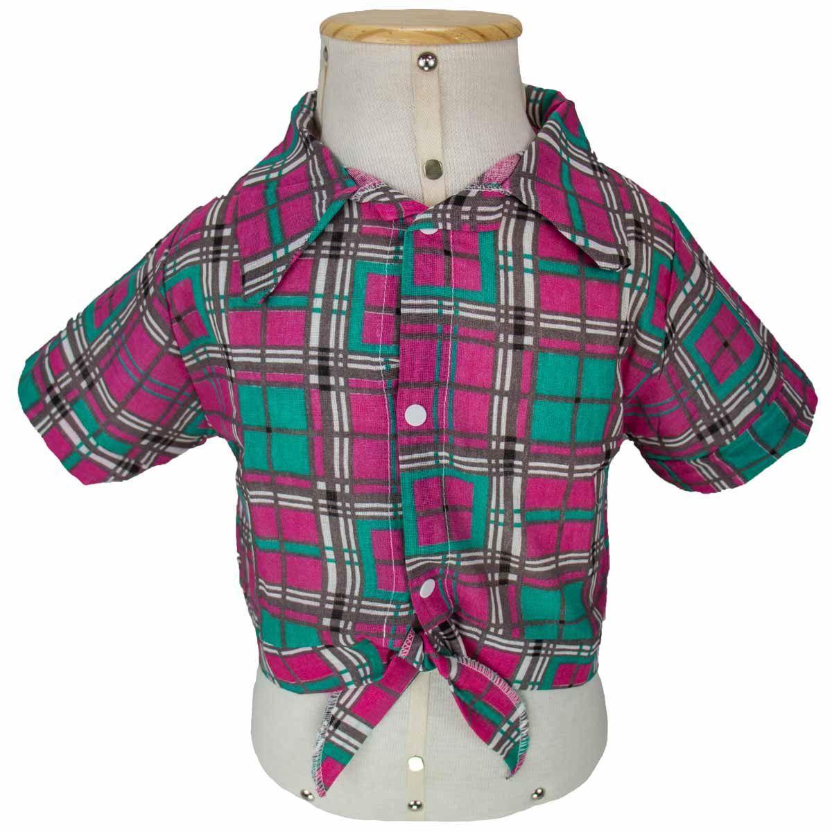 851aca2a9f Camisa Xadrez de Festa Junina e Caipira Infantil Feminina - Fantasias carol  he Produto não disponível