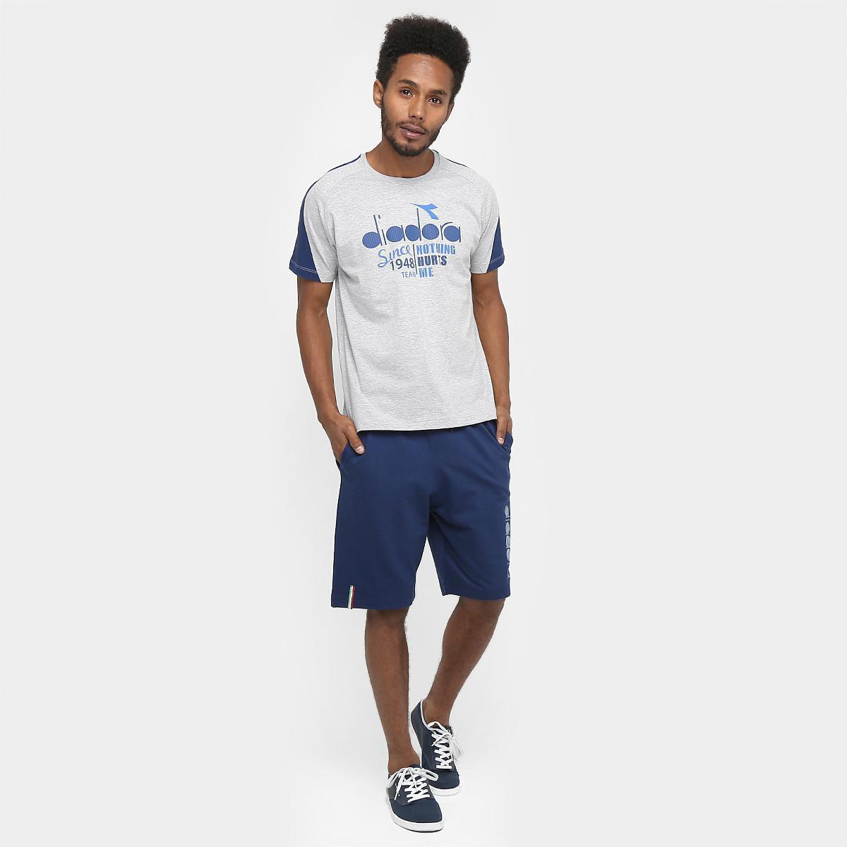 Camiseta Diadora Italy Masculina