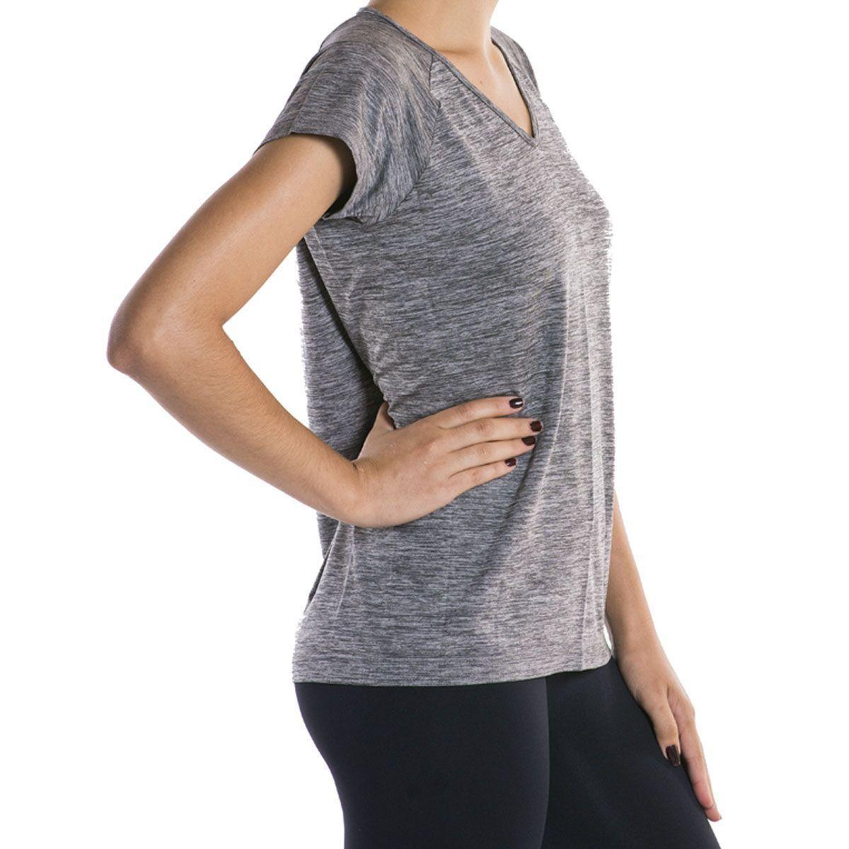 cc33b3cc36bd Camiseta Feminina Lupo Sport Comfortable Mescla Ref. 71660-001
