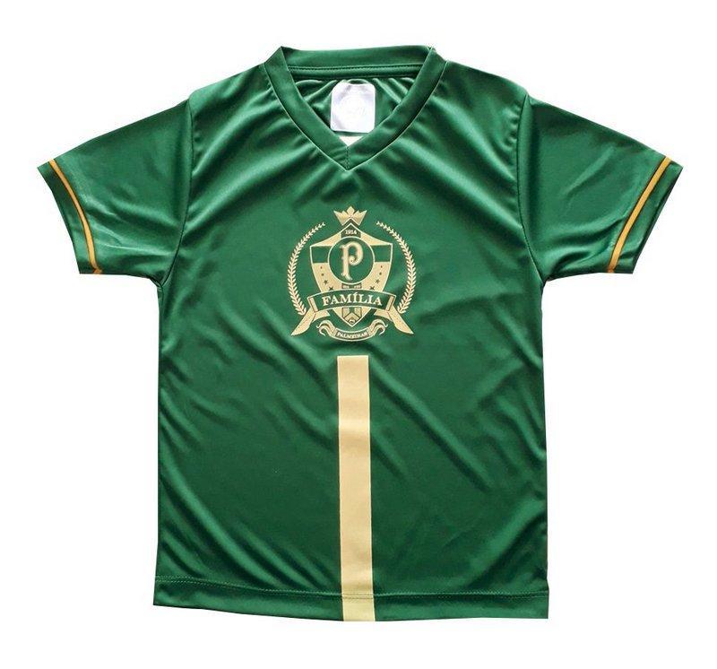 b615861c30964 Camiseta Infantil Palmeiras Dourada Oficial - Revedor - Camiseta e ...