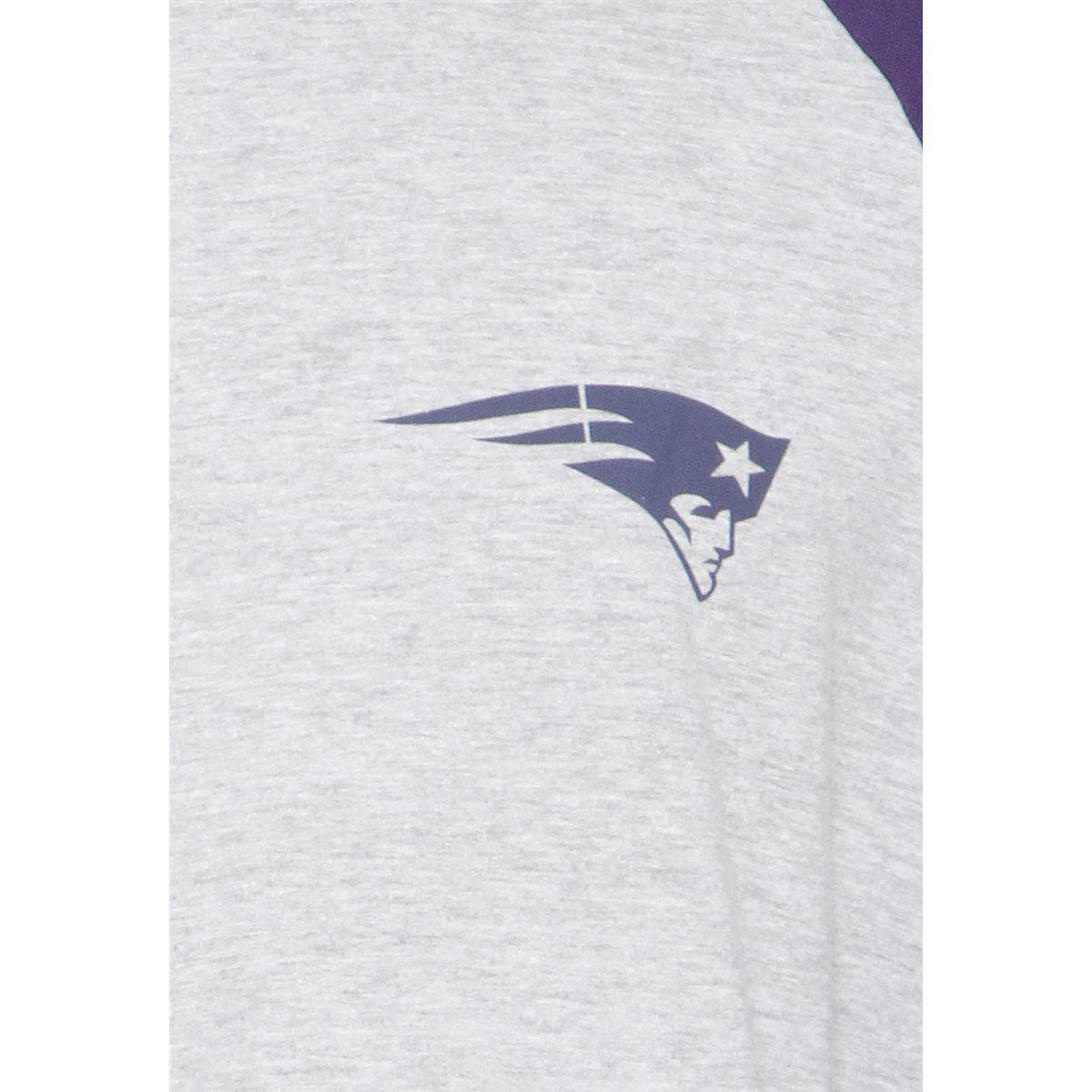 Camiseta New Era Manga Longa New England Patriots Masculina - Camisa ... b3a4459843d